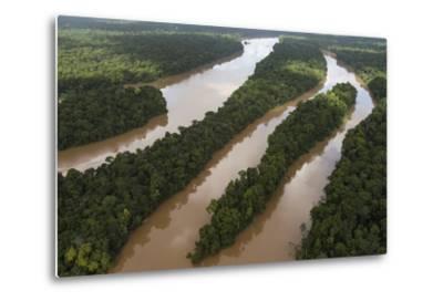 Cuyuni River, Guyana. Longest River in Guyana-Pete Oxford-Metal Print