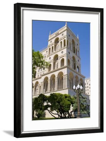 The House of Government, Baku, Azerbaijan-Michael Runkel-Framed Photographic Print