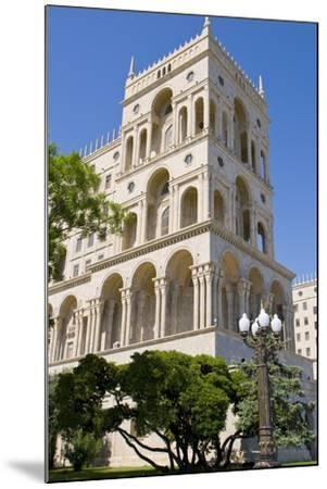The House of Government, Baku, Azerbaijan-Michael Runkel-Mounted Photographic Print