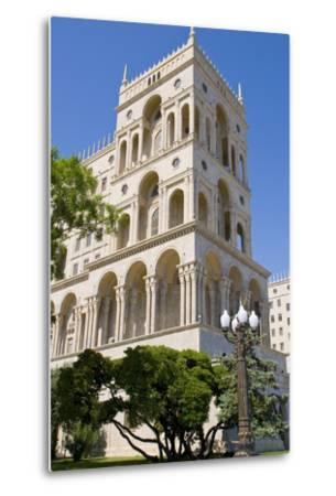 The House of Government, Baku, Azerbaijan-Michael Runkel-Metal Print