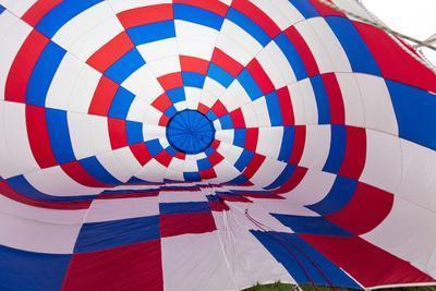 Inside an Inflating Balloon at the Albuquerque Balloon Fiesta in Albuquerque, New Mexico, Usa-Chuck Haney-Framed Photographic Print