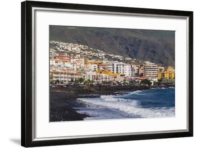 Spain, Canary Islands, Tenerife, Candelaria, Town View-Walter Bibikow-Framed Photographic Print