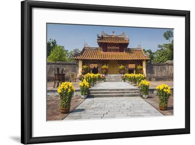 Vietnam, Hue. Tomb Complex of Emperor Minh Mang-Walter Bibikow-Framed Photographic Print