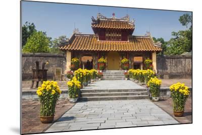 Vietnam, Hue. Tomb Complex of Emperor Minh Mang-Walter Bibikow-Mounted Photographic Print
