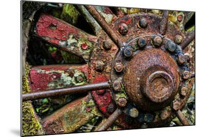 Washington State, Forks. Detail of Antique Logging Equipment-Jaynes Gallery-Mounted Photographic Print