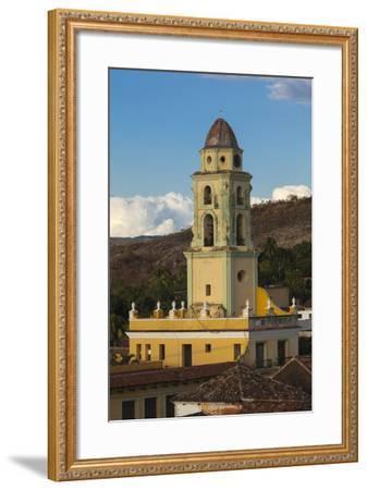 Cuba, Trinidad. a Church in the Historic Center of Town-Brenda Tharp-Framed Photographic Print