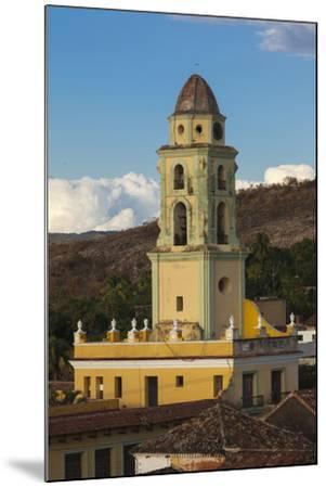 Cuba, Trinidad. a Church in the Historic Center of Town-Brenda Tharp-Mounted Photographic Print