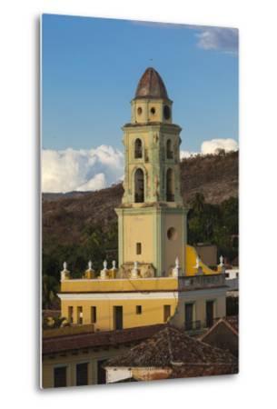 Cuba, Trinidad. a Church in the Historic Center of Town-Brenda Tharp-Metal Print