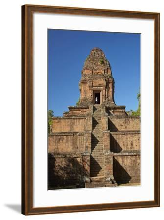 Baksei Chamkrong Temple, Angkor World Heritage Site, Siem Reap, Cambodia-David Wall-Framed Photographic Print