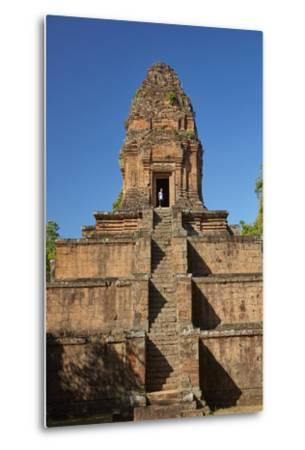 Baksei Chamkrong Temple, Angkor World Heritage Site, Siem Reap, Cambodia-David Wall-Metal Print