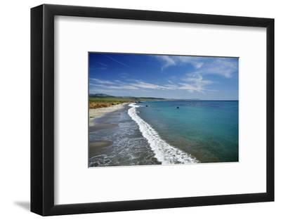 California Central Coast, San Simeon, William Randolph Hearst Memorial Beach-David Wall-Framed Photographic Print