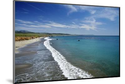 California Central Coast, San Simeon, William Randolph Hearst Memorial Beach-David Wall-Mounted Photographic Print