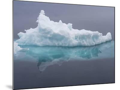 Arctic Ocean, Norway, Svalbard. Iceberg Reflects in Ocean-Jaynes Gallery-Mounted Photographic Print