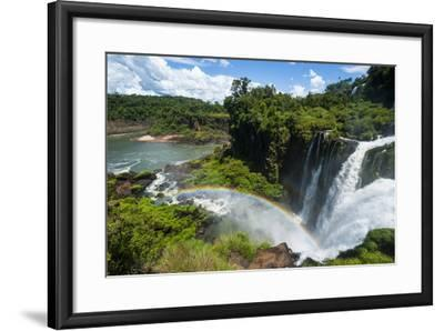 Unesco World Heritage Site, Foz De Iguacu, Argentina-Michael Runkel-Framed Photographic Print
