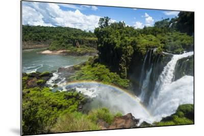Unesco World Heritage Site, Foz De Iguacu, Argentina-Michael Runkel-Mounted Photographic Print