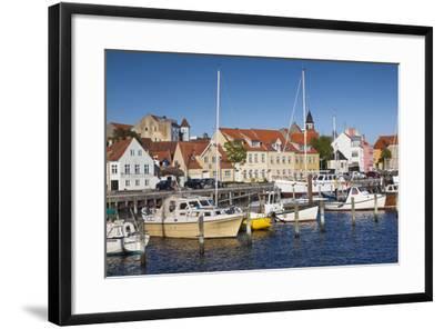Denmark, Funen, Faaborg, Port View-Walter Bibikow-Framed Photographic Print