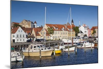 Denmark, Funen, Faaborg, Port View-Walter Bibikow-Mounted Photographic Print