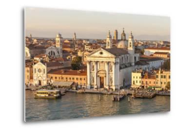 Skyline from Above with Gesuati in Front. Venice. Italy-Tom Norring-Metal Print