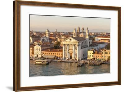 Skyline from Above with Gesuati in Front. Venice. Italy-Tom Norring-Framed Photographic Print