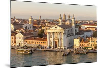 Skyline from Above with Gesuati in Front. Venice. Italy-Tom Norring-Mounted Photographic Print
