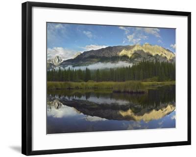 Opal Range, Kananaskis Country, Alberta, Canada-Tim Fitzharris-Framed Photographic Print
