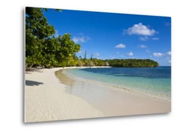 White Sand Beach Bay De Kanumera, Ile Des Pins, New Caledonia, Melanesia, South Pacific-Michael Runkel-Metal Print