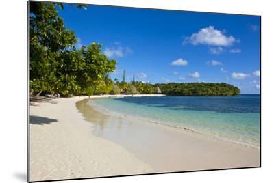 White Sand Beach Bay De Kanumera, Ile Des Pins, New Caledonia, Melanesia, South Pacific-Michael Runkel-Mounted Photographic Print