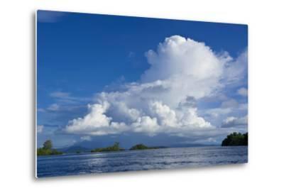 Marovo Lagoon, Solomon Islands, Pacific-Michael Runkel-Metal Print