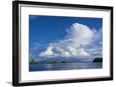 Marovo Lagoon, Solomon Islands, Pacific-Michael Runkel-Framed Photographic Print
