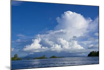 Marovo Lagoon, Solomon Islands, Pacific-Michael Runkel-Mounted Photographic Print