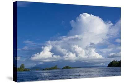 Marovo Lagoon, Solomon Islands, Pacific-Michael Runkel-Stretched Canvas Print