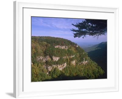 Cloudland Canyon State Park, Georgia, Usa-Tim Fitzharris-Framed Photographic Print