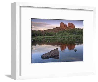 Cathedral Rock at Red Rock Crossing, Arizona, Usa-Tim Fitzharris-Framed Photographic Print