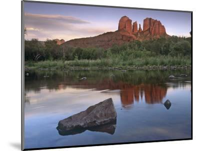 Cathedral Rock at Red Rock Crossing, Arizona, Usa-Tim Fitzharris-Mounted Photographic Print