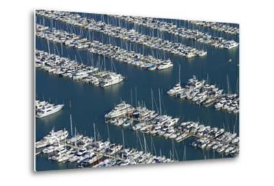 Westhaven Marina, Auckland, North Island, New Zealand-David Wall-Metal Print