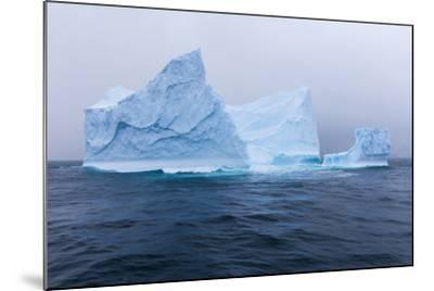 South Georgia Island. Large Iceberg on Cloudy Day-Jaynes Gallery-Mounted Photographic Print
