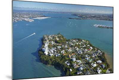 Stanley Point, Waitemata Harbour, and Auckland Harbour Bridge, Auckland, North Island, New Zealand-David Wall-Mounted Photographic Print