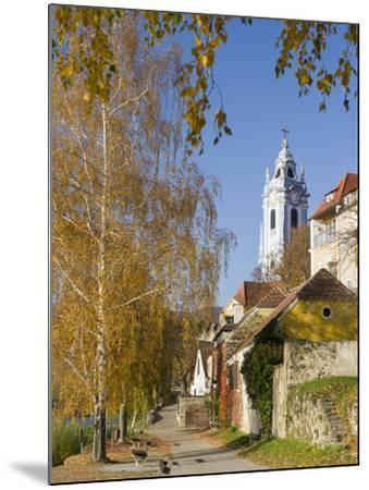 Collegiate Church in Durnstein, an Icon of the Wachau Area. Austria-Martin Zwick-Mounted Photographic Print