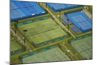 Tennis Courts, Albany, Auckland, North Island, New Zealand-David Wall-Mounted Photographic Print