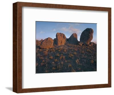 Boulders of the City of Rocks State Park, New Mexico, Usa-Tim Fitzharris-Framed Photographic Print