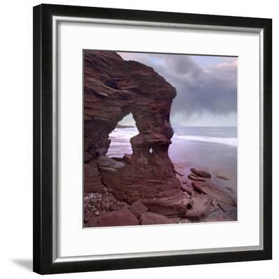 Cavendish Beach, Prince Edward Island National Park, Prince Edward Island, Canada-Tim Fitzharris-Framed Photographic Print