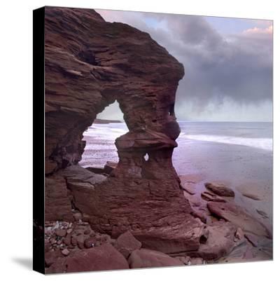 Cavendish Beach, Prince Edward Island National Park, Prince Edward Island, Canada-Tim Fitzharris-Stretched Canvas Print