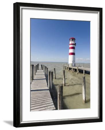 Podersdorf Am See on the Shore of Lake Neusiedl. Burgenland, Austria-Martin Zwick-Framed Photographic Print