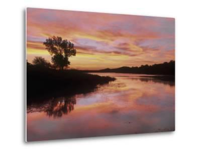 Elmer Thomas Lake, Wichita Mountains National Wildlife Refuge, Oklahoma-Tim Fitzharris-Metal Print