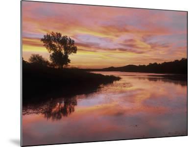 Elmer Thomas Lake, Wichita Mountains National Wildlife Refuge, Oklahoma-Tim Fitzharris-Mounted Photographic Print