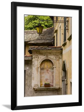 Cityscape. Orta San Giulio. Piedmont, Italy-Tom Norring-Framed Photographic Print