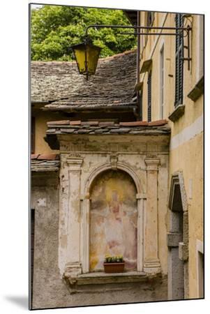 Cityscape. Orta San Giulio. Piedmont, Italy-Tom Norring-Mounted Photographic Print