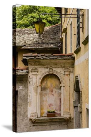 Cityscape. Orta San Giulio. Piedmont, Italy-Tom Norring-Stretched Canvas Print