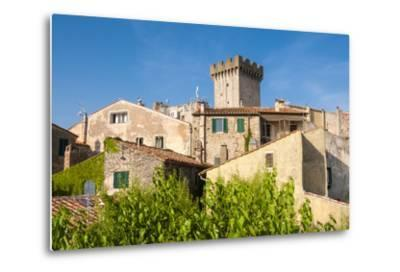 Medieval Fortress, Capalbio, Grosseto Province, Tuscany, Italy-Nico Tondini-Metal Print