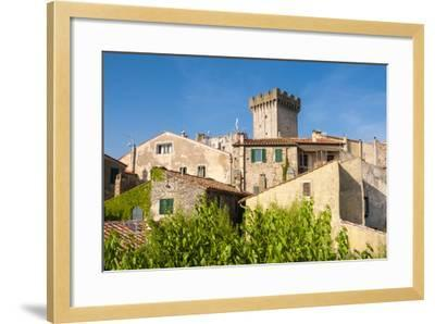 Medieval Fortress, Capalbio, Grosseto Province, Tuscany, Italy-Nico Tondini-Framed Photographic Print